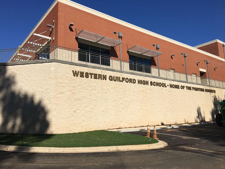 Charlotte Law School >> Western Guilford H.S. New Gymnasium